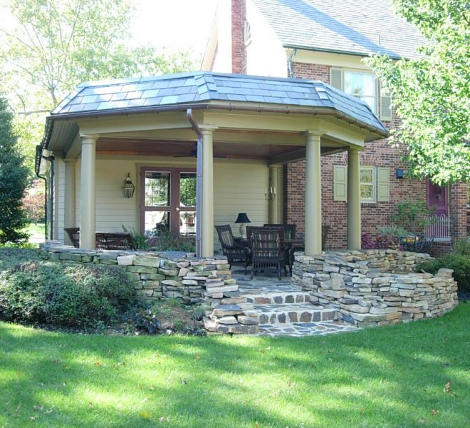 First Capital Design Group York PA residential outdoor pavillion